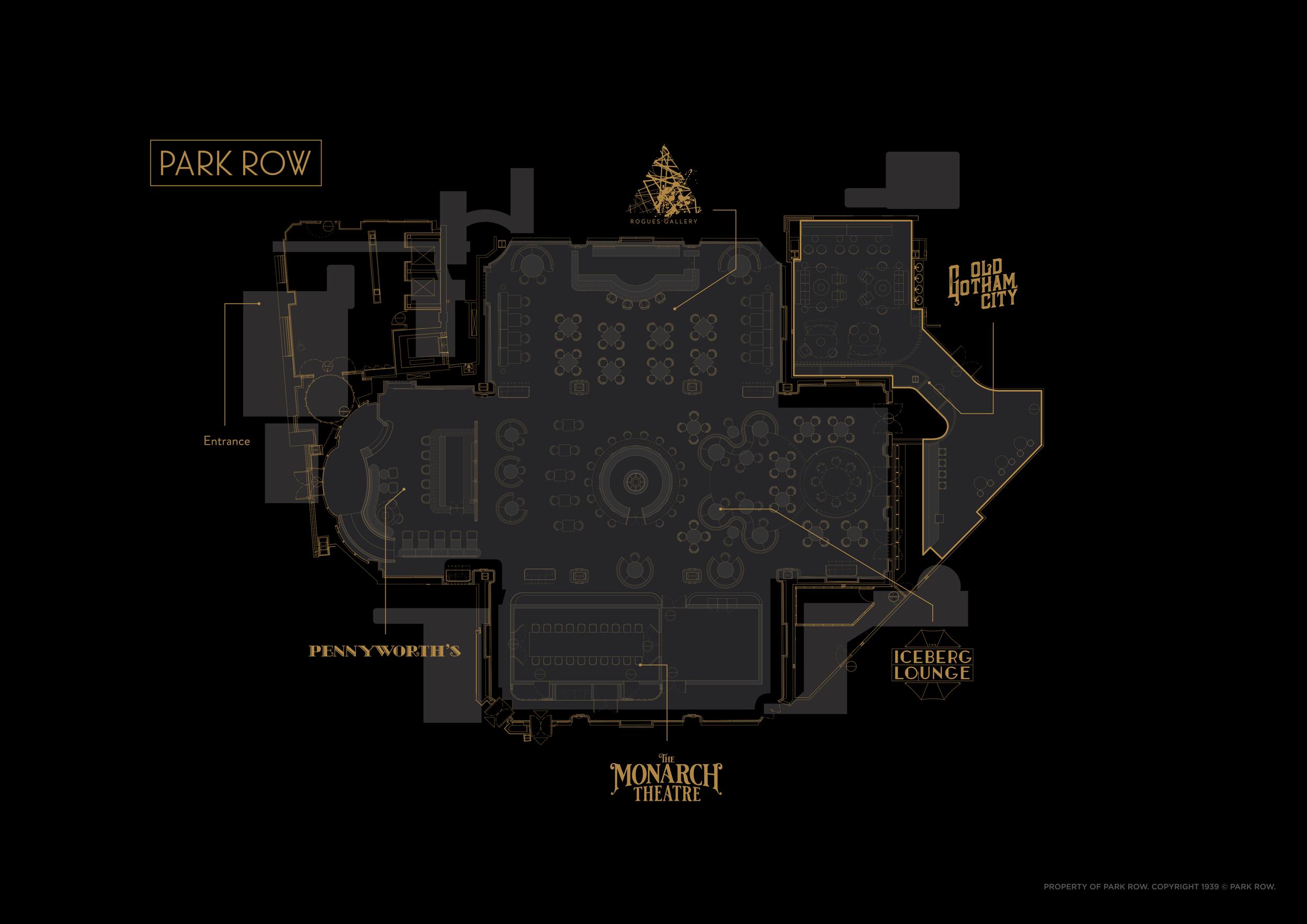 Park Row Floor Plan